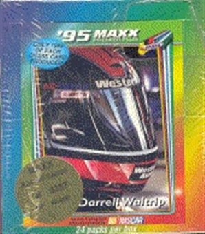 1995 J.R. Maxx Inc. Maxx Premier Plus Racing Hobby Box