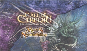 Fantasy Flight Call of Cthulhu Masks of Nyarlathotep Booster Box