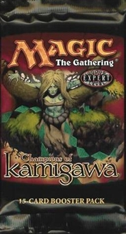 Magic the Gathering Champions of Kamigawa Booster Pack