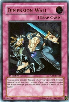 Yu-Gi-Oh Cybernetic Revolution Single Dimension Wall Ultimate Rare
