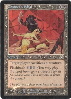 Magic the Gathering Torment Single Chainer's Edict Foil