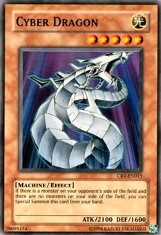 Yu-Gi-Oh Cybernetic Revolution Single Cyber Dragon Super Rare