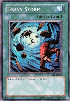 Yu-Gi-Oh Dark Beginning 2 Single Heavy Storm Super Rare (DB2-EN084)