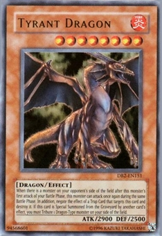 Yu-Gi-Oh Dark Beginning 2 Single Tyrant Dragon Ultra Rare (DB2-EN151) - SLIGHT PLAY (SP)