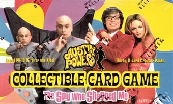 Decipher Austin Powers Spy Who Shagged Me Booster Box