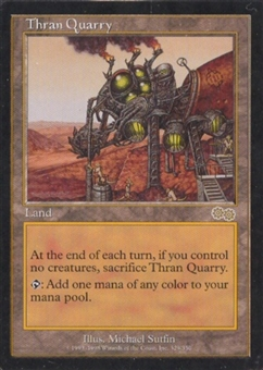 Magic the Gathering Urza's Saga Single Thran Quarry - NEAR MINT (NM)