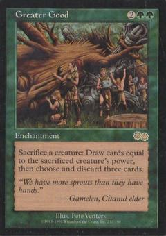 Magic the Gathering Urza's Saga Single Greater Good - NEAR MINT (NM)