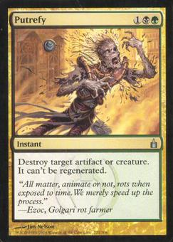 Magic the Gathering Ravnica Single Putrefy - NEAR MINT (NM)