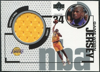 1998/99 Upper Deck Game Jerseys #GJ4 Shaquille O'Neal