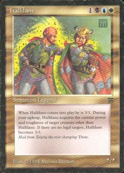 Magic the Gathering Legends Single Halfdane - MODERATE PLAY (MP)