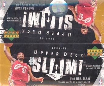 2005/06 Upper Deck Slam Basketball 24-Pack Box