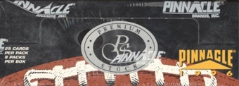 1996 Pinnacle Premium Stock Football Hobby Box