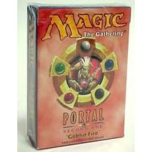 Magic the Gathering Portal 2: Second Age Goblin Fire Theme Deck