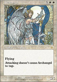 Magic the Gathering Starter Single Archangel - SLIGHT PLAY (SP)