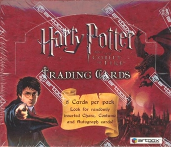 Harry Potter and The Goblet of Fire Hobby Box (2005 Artbox)