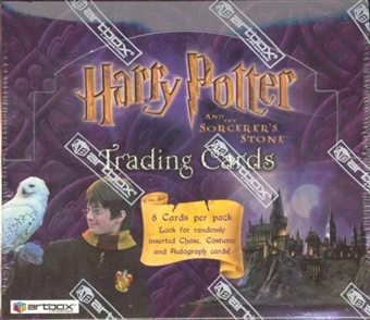 Harry Potter and The Sorcerer's Stone Hobby Box (Artbox)