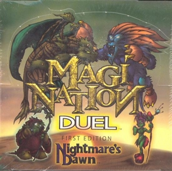 Interactive Imagination Magi-Nation Duel Nightmare's Dawn Precon Theme Deck Box
