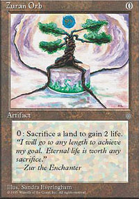 Magic the Gathering Ice Age Single Zuran Orb - NEAR MINT (NM)