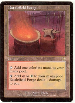 Magic the Gathering Apocalypse Single Battlefield Forge LIGHT PLAY (NM)