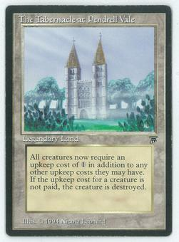 Magic the Gathering Legends Single Tabernacle at Pendrell Vale - MODERATE PLAY (MP+)