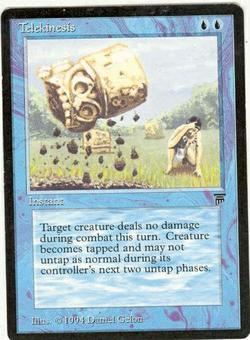 Magic the Gathering Legends Single Telekinesis - SLIGHT PLAY (SP)