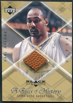 1999/00 Upper Deck Black Diamond A Piece of History #KM Karl Malone