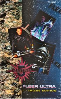 Babylon 5 Season 1 Hobby Box (1995 Fleer Ultra)