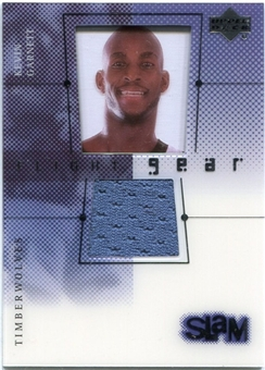 2000/01 Upper Deck Slam Flight Gear #KG2G Kevin Garnett