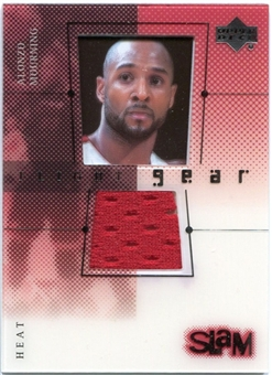 2000/01 Upper Deck Slam Flight Gear #AMG Alonzo Mourning