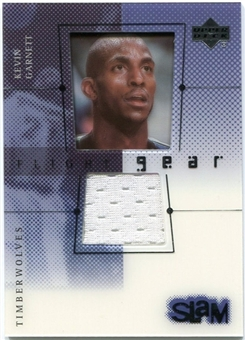 2000/01 Upper Deck Slam Flight Gear #KGG Kevin Garnett White