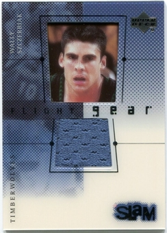 2000/01 Upper Deck Slam Flight Gear #WSG Wally Szczerbiak