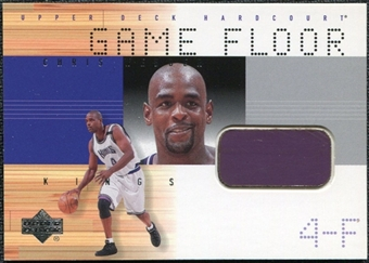 2000/01 Upper Deck Hardcourt Game Floor #CWF Chris Webber