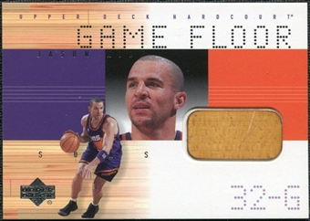 2000/01 Upper Deck Hardcourt Game Floor #JKF Jason Kidd