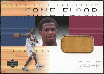 2000/01 Upper Deck Hardcourt Game Floor #MCF Antonio McDyess