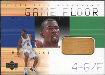 2000/01 Upper Deck Hardcourt Game Floor #MFF Michael Finley