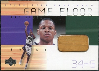 2000/01 Upper Deck Hardcourt Game Floor #RAF Ray Allen