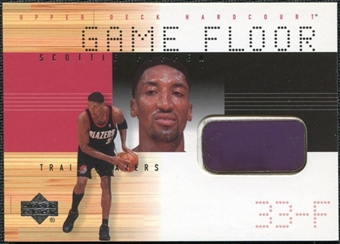 2000/01 Upper Deck Hardcourt Game Floor #SPF Scottie Pippen
