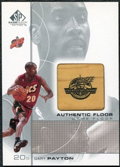 2000/01 Upper Deck SP Game Floor Authentic Floor #GP Gary Payton