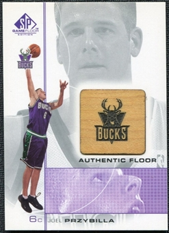 2000/01 Upper Deck SP Game Floor Authentic Floor #JP Joel Przybilla