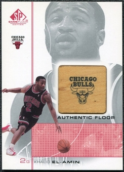 2000/01 Upper Deck SP Game Floor Authentic Floor #KE Khalid El-Amin