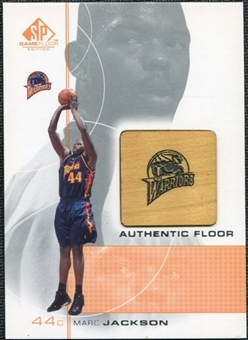 2000/01 Upper Deck SP Game Floor Authentic Floor #MA Marc Jackson