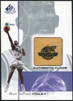2000/01 Upper Deck SP Game Floor Authentic Floor #MF Michael Finley