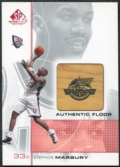 2000/01 Upper Deck SP Game Floor Authentic Floor #SM Stephon Marbury AS
