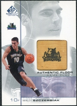 2000/01 Upper Deck SP Game Floor Authentic Floor #WS Wally Szczerbiak
