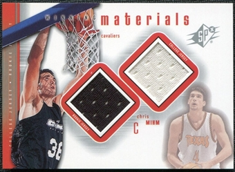 2000/01 Upper Deck SPx Winning Materials #CM1 Chris Mihm