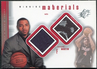 2000/01 Upper Deck SPx Winning Materials #KM1 Kenyon Martin