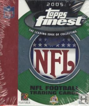 2005 Topps Finest Football Hobby 6-Pack Mini Box
