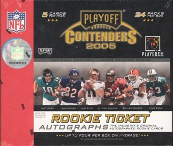2005 Playoff Contenders Football Hobby Box