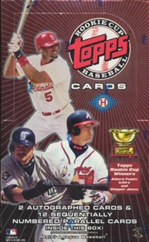 2005 Topps Rookie Cup Baseball Hobby Box