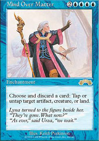 Magic the Gathering Exodus Single Mind Over Matter - NEAR MINT (NM)